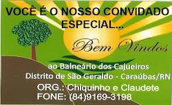 Balneário do Distrito de São Geraldo...