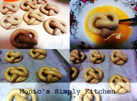 resep soft pretzel
