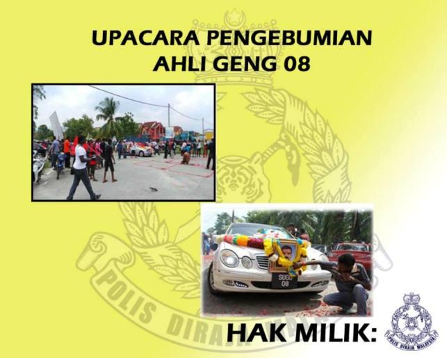 Gambar Logo lambang Aktiviti Kumpulan Kongsi Gelap Malaysia