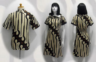 PO A33 MODEL BAJU BATIK WANITA MODERN