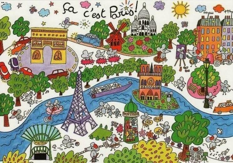 Parlo francese les arrondissements de paris - Dessin interactif ...