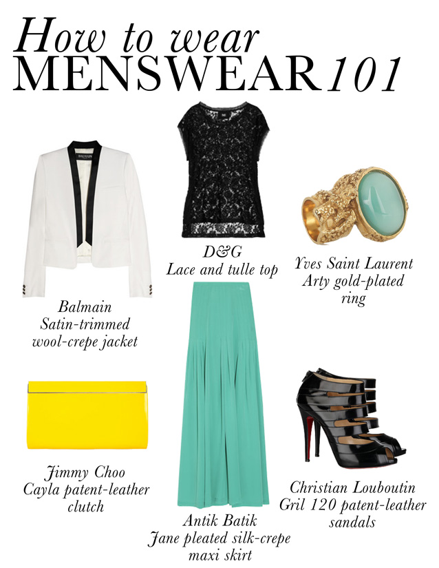 Style by Red: HOW TO WEAR MENSWEAR AND STILL LOOK FEMININE