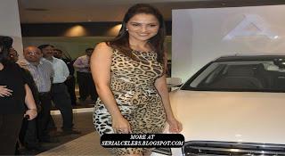 Lara Dutta Unvelis New Audi
