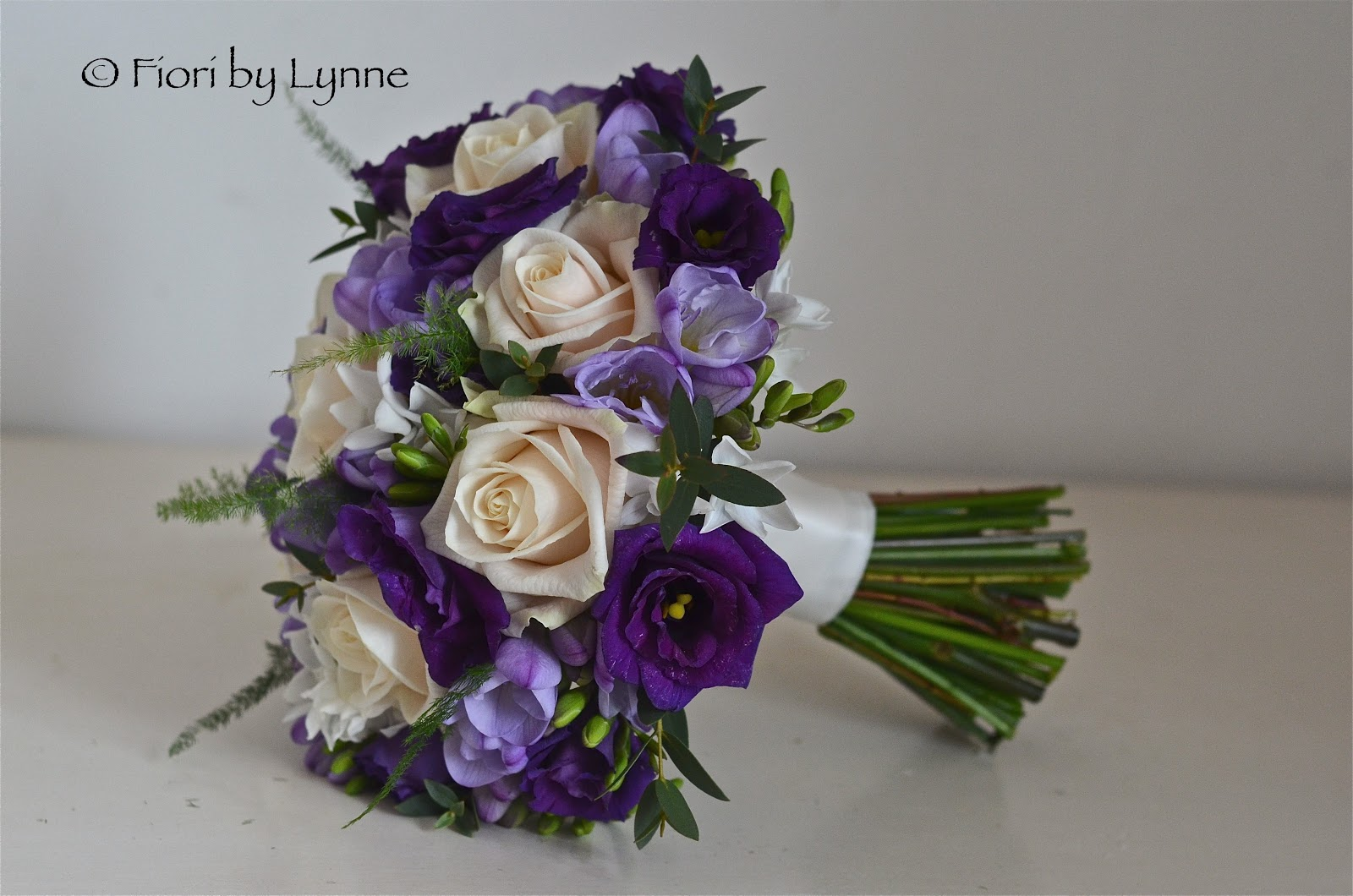 Wedding Flowers Blog: Emma\'s Purple,Cream and LIlac Wedding Flowers ...