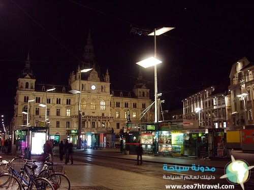 سنتر مدينة غراتس في النمسا