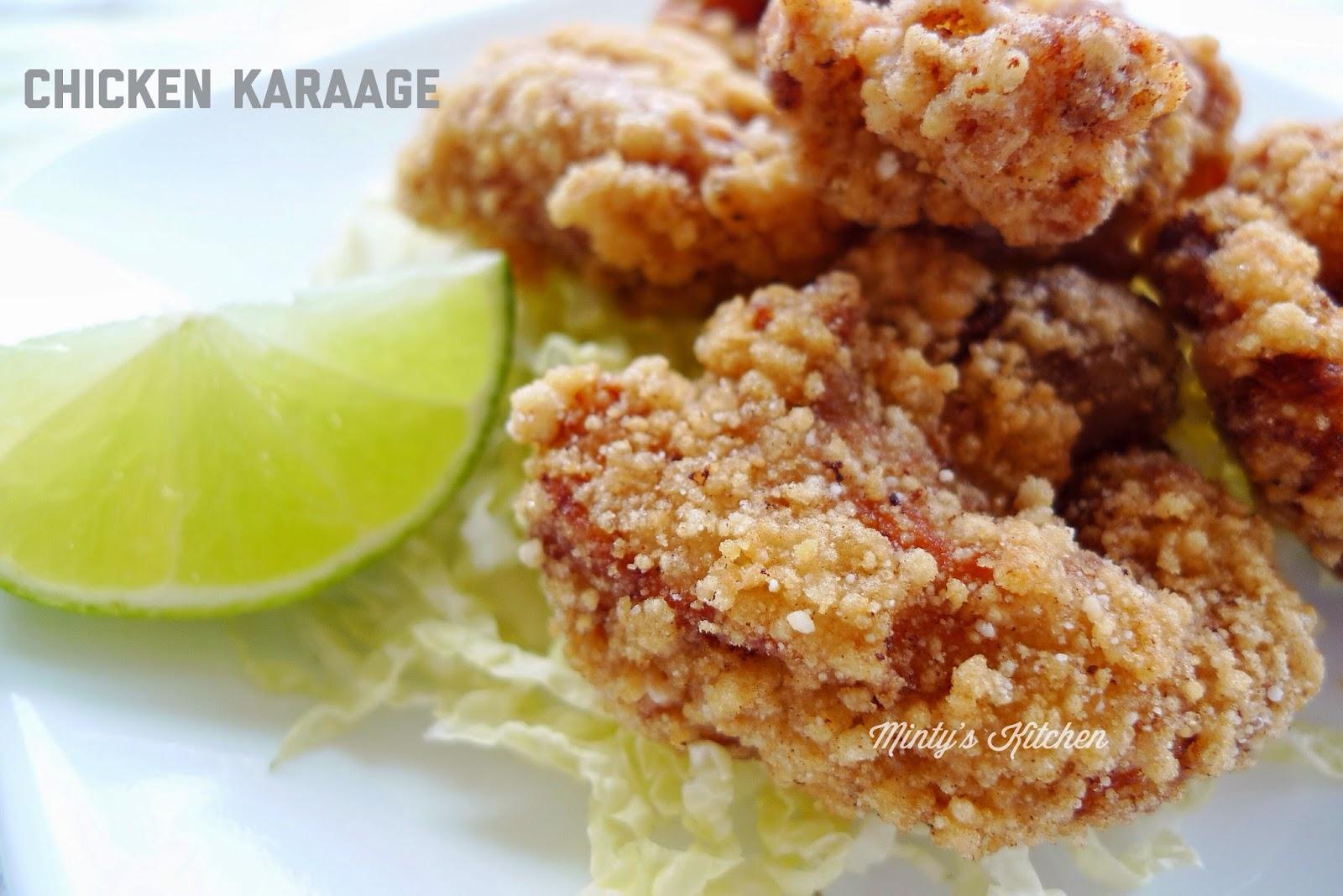 Minty's Kitchen: Chicken Karaage (Japanese Fried Chicken)