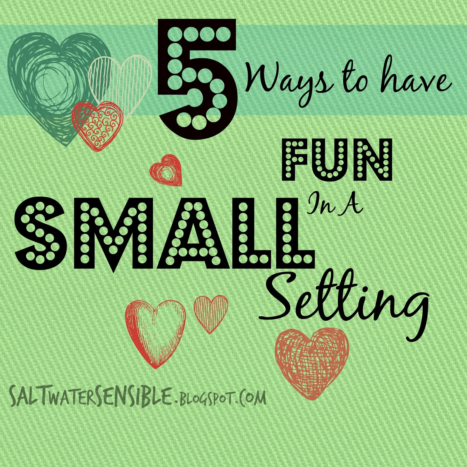 Five ways to have fun in a small town setting