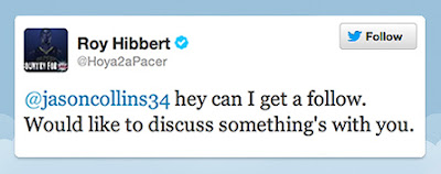 Roy Hibbert Tweet