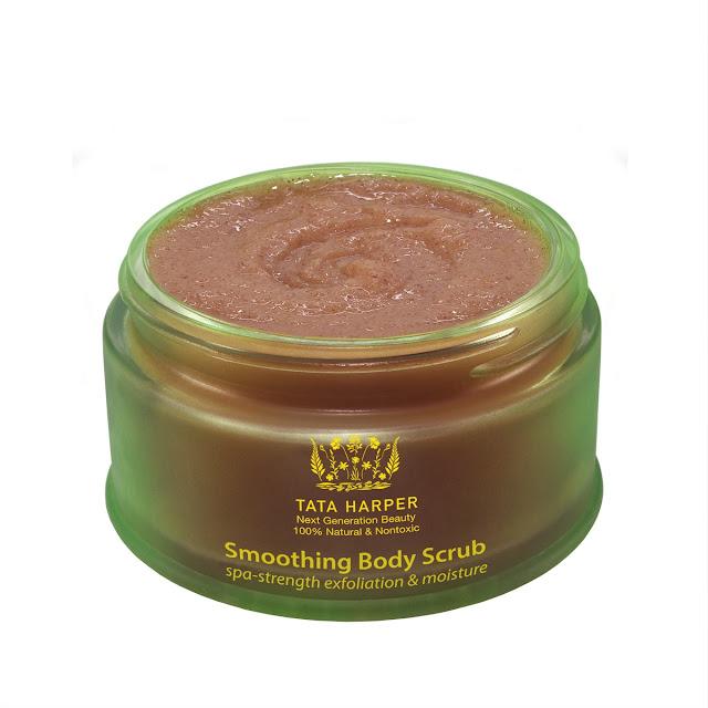 Tata Harper Skincare, Tata Harper Smoothing Body Scrub, beauty giveaway, A Month of Beautiful Giveaways