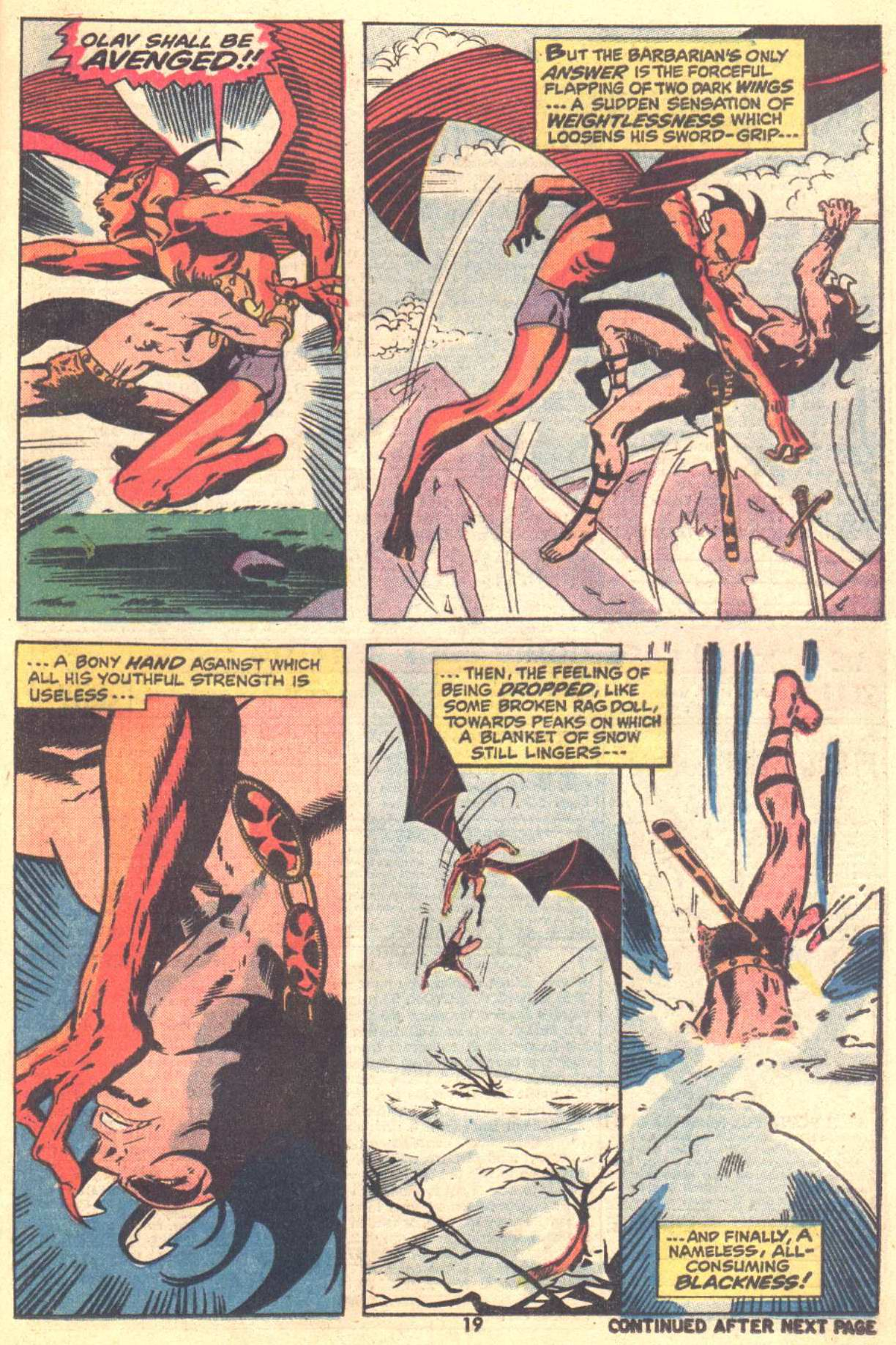 Conan the Barbarian (1970) Issue #22 #34 - English 14