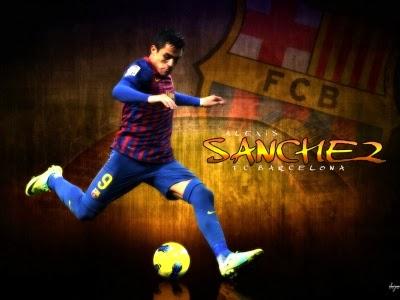 صور اليكسيس سانشيز 2014 , خلفيات لاعب برشلونة Alexis Sanchez