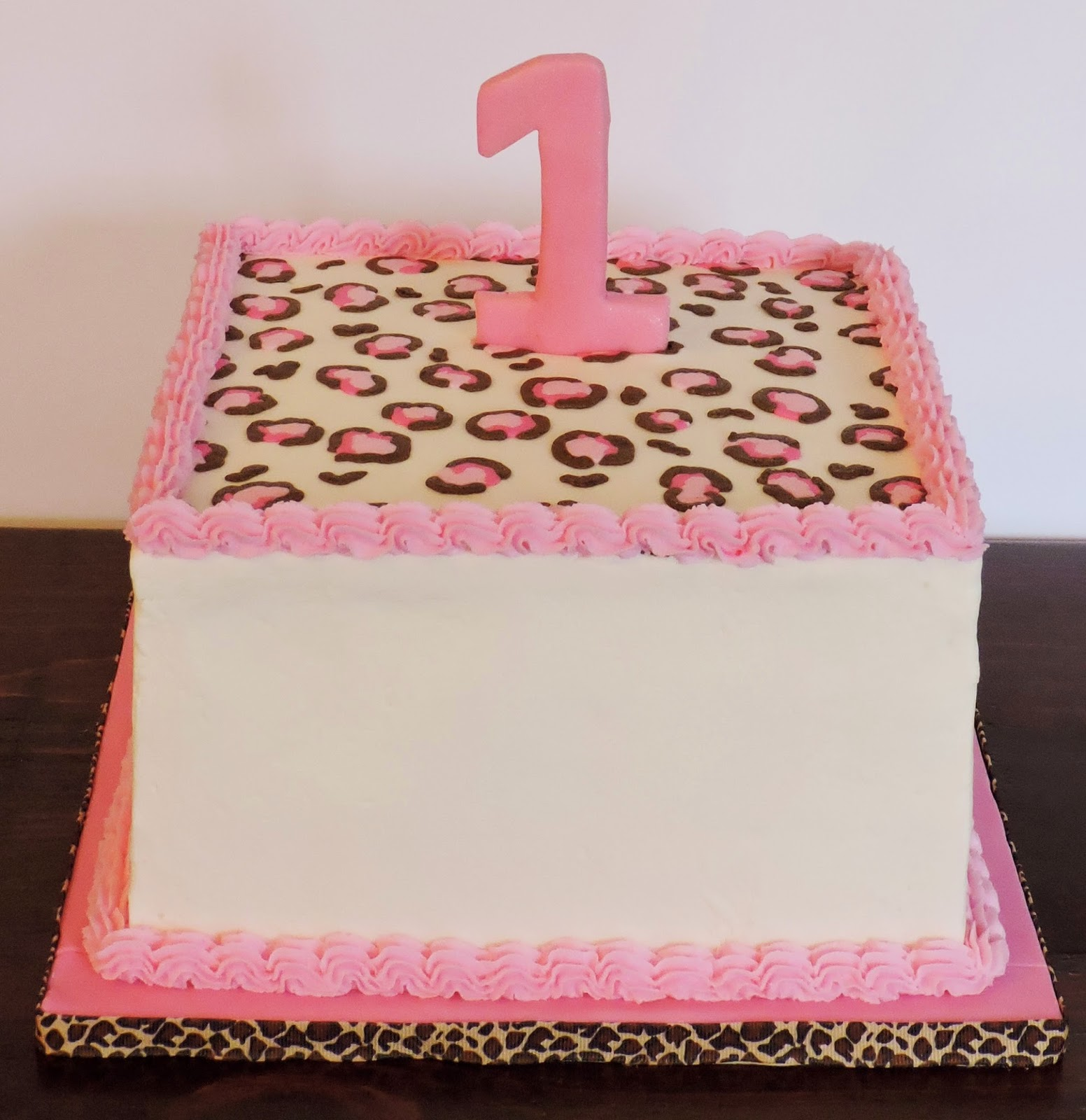 Cakesor Something Like That Leopard Print Cake Leopard