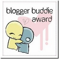 Blogger Buddie Award