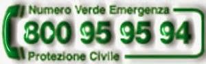 Numero Verde Emergenza