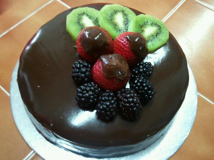 Creamy Bakes: Chocolate Ganache cake 1