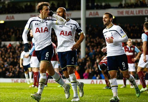 Piala FA : Tottenham Hotspur 4-2 Burnley