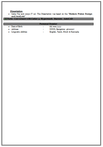Over 10000 Cv And Resume Samples With Free Download Very Effective