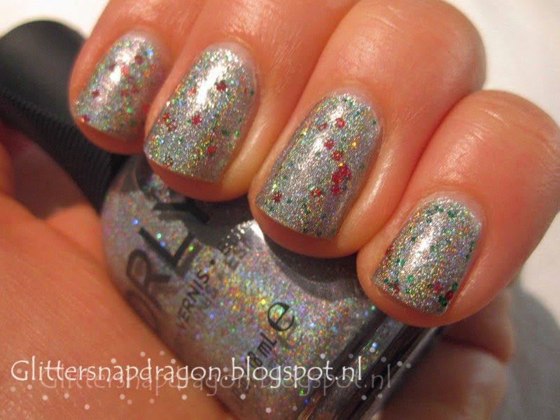 Orly Mirrorball China Glaze Party Hearty