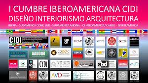I CUMBRE IBEROAMERICANA CIDI DE DISEÑO, INTERIORISMO & ARQUITECTURA 2014