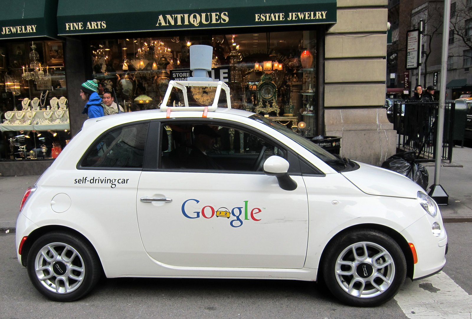 Which Auto Company Makes The Google Self Driving Car