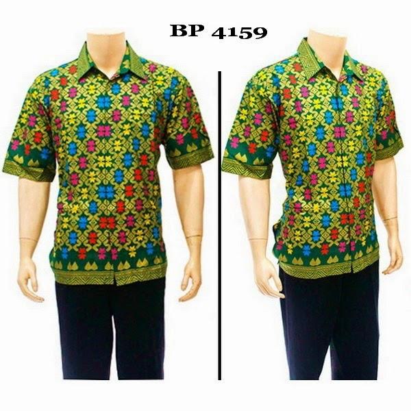 Baju Hem Batik Pria BP4159