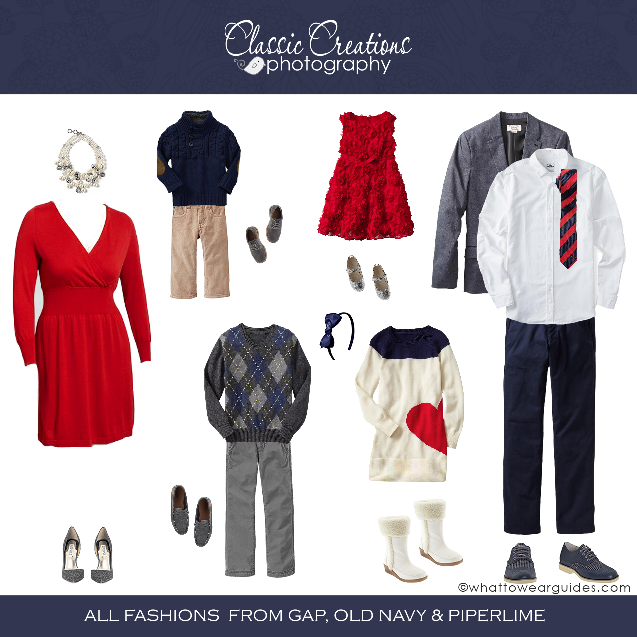 Classic Creations Photography: What to Wear December 2014 ...