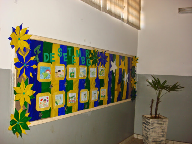 Murais e pain is da independ ncia do brasil 7 de for Mural 7 de setembro