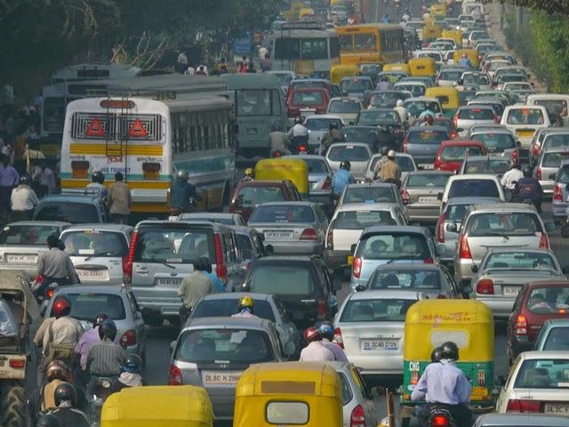 Revolusi Ilmiah - Kepadatan dan tercemarnya Kota New Delhi
