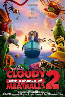 Cloudy with a Chance of Meatballs 2 2013 Bioskop