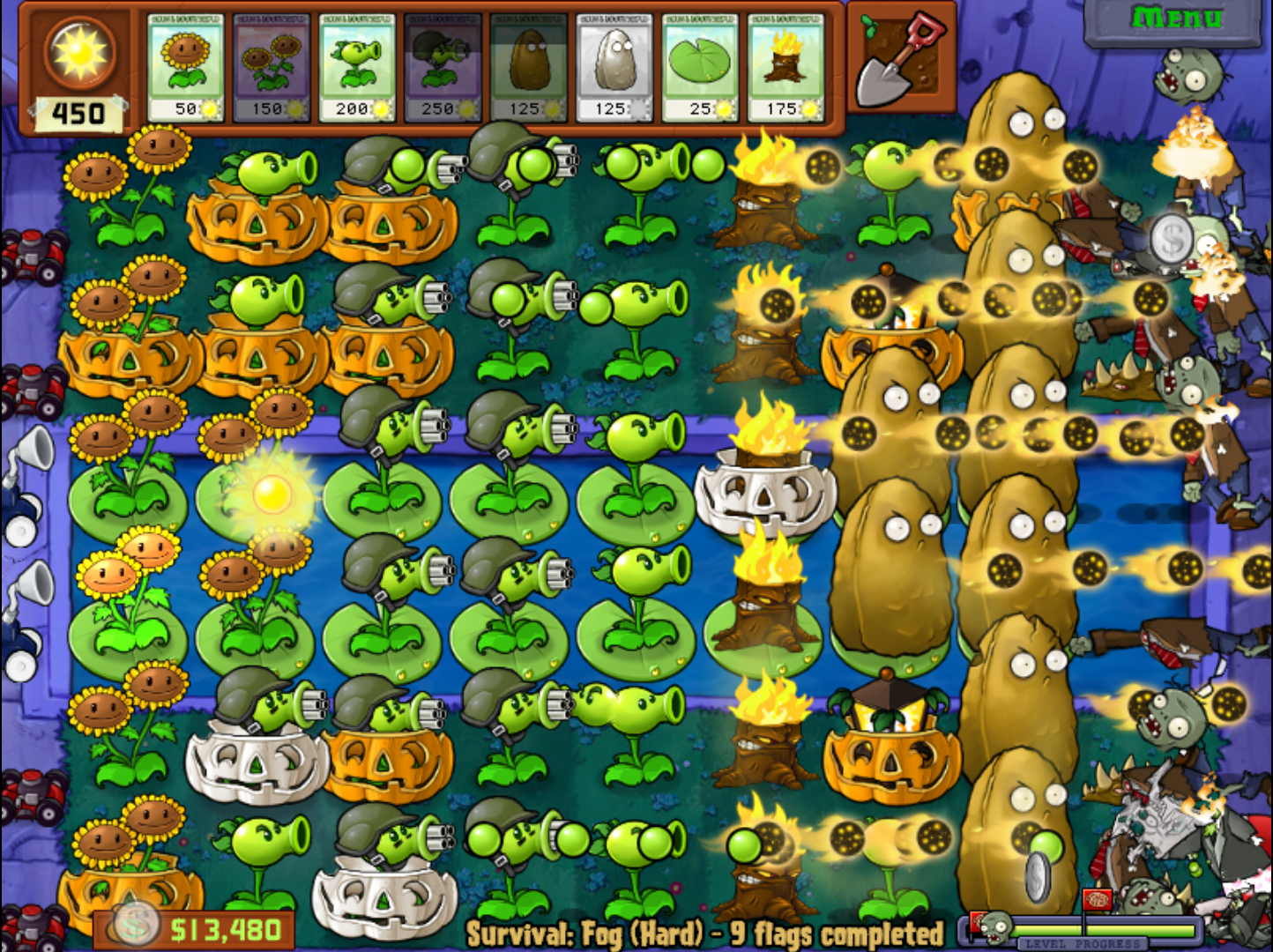 version vs download zombies old free plants of