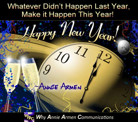 Happy New Year Message | Inspired by Og Mandino | WhyAnnieArmen.com