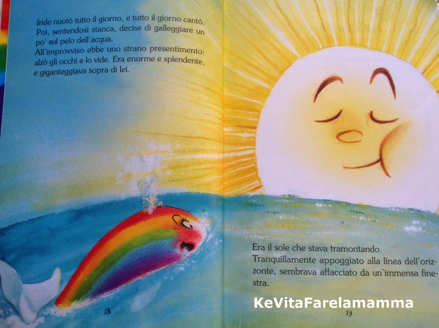 La Balena Arcobalena L Amicizia E L Amore Kevitafarelamamma
