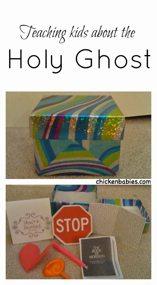Great idea for a FHE lesson or baptism talk on the Holy Ghost