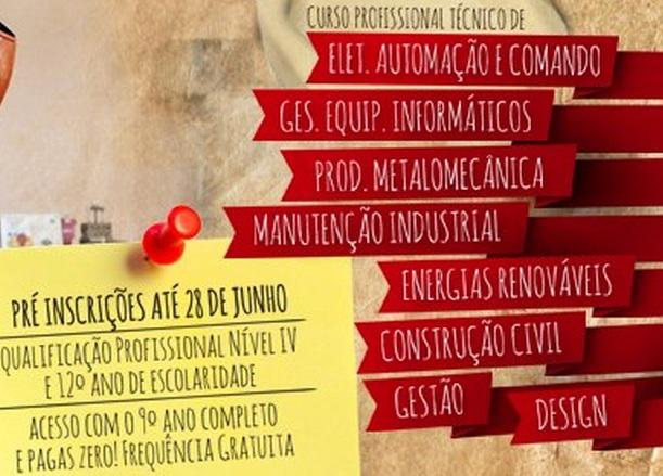 Cursos profissionais 2013 / 2014 na Escola Profissional de Ourém