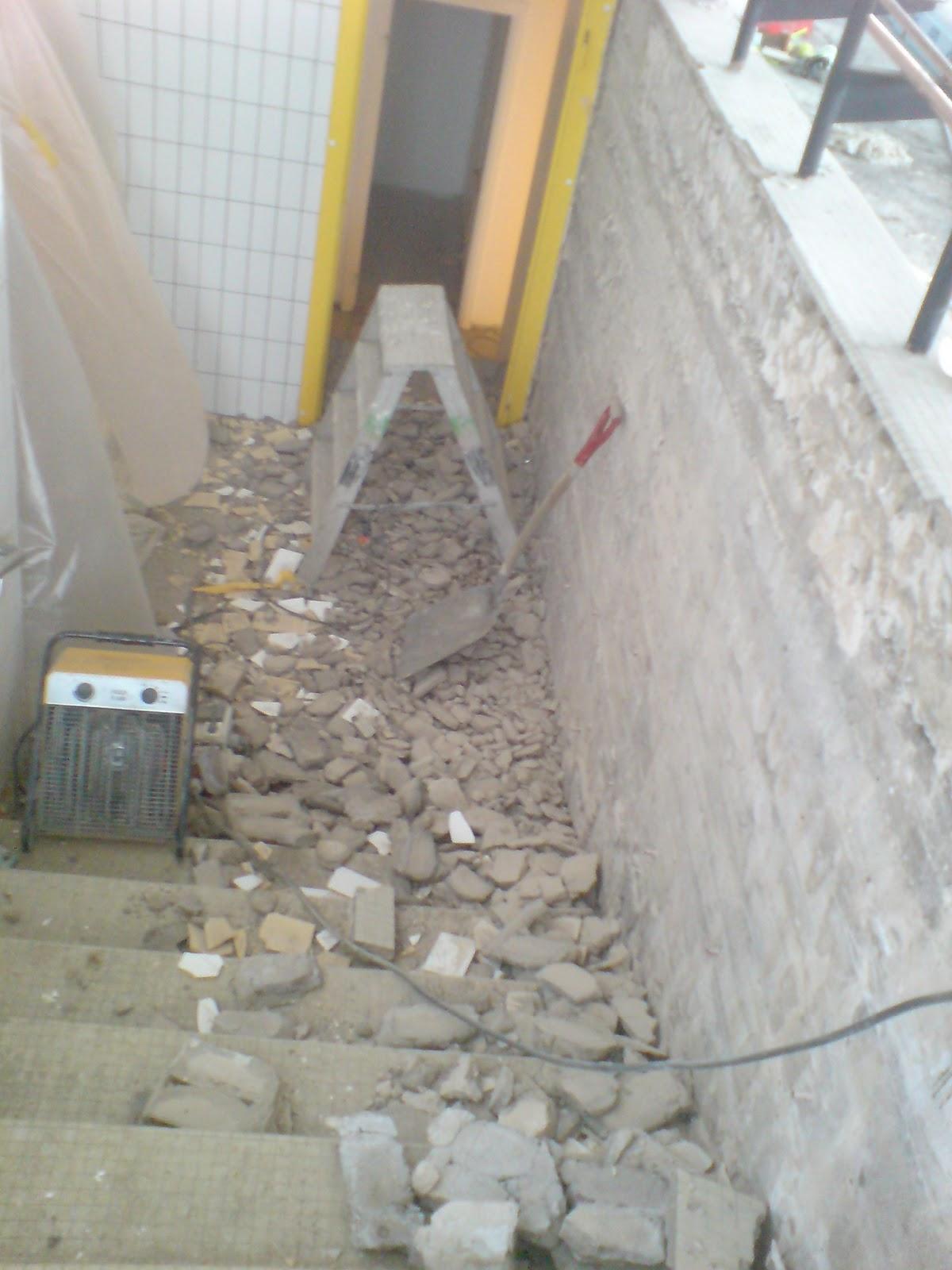 slamning av vägg