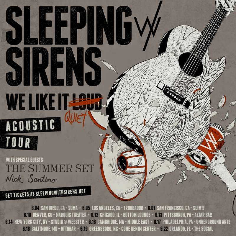 Sleeping with sirens tour dates