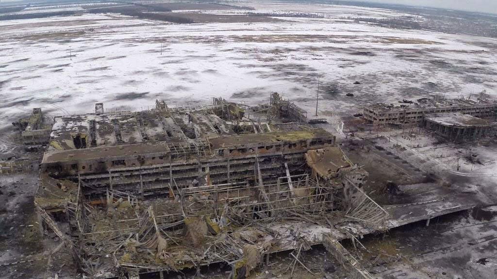 В Донецком аэропорту весь день шли тяжелые бои
