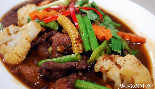 Stir Fried Beef With Oyster Sauce (RM 14.50)