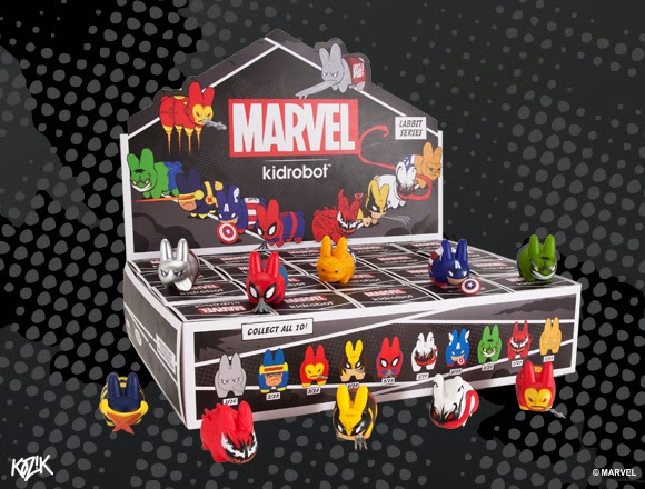 Marvel x Kidrobot Mini Labbit Blind Box Series 2