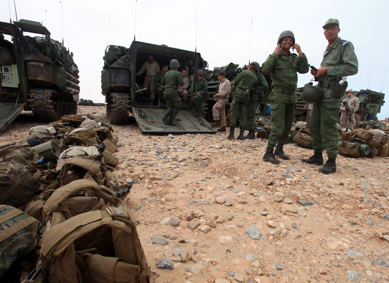 African Lion 2012 - Amphibious Operations 557674