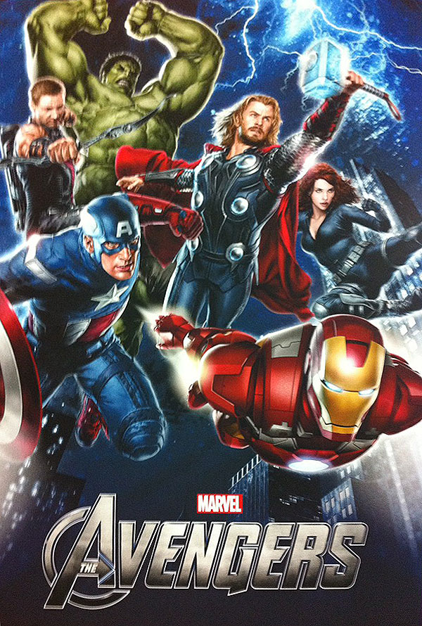 i first person singular the avengers movie promo poster