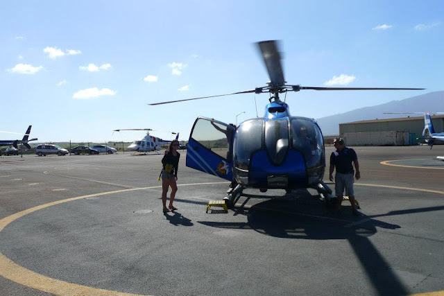 Blue Hawaiian Helicopter's Maui