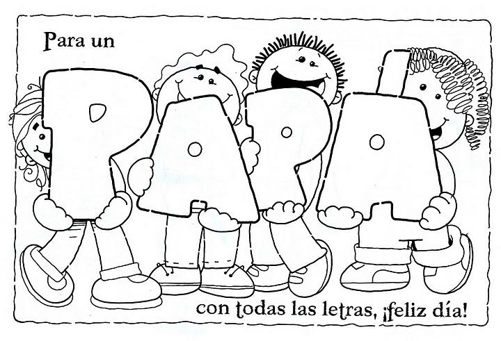 8 dibujos para el Día del padre
