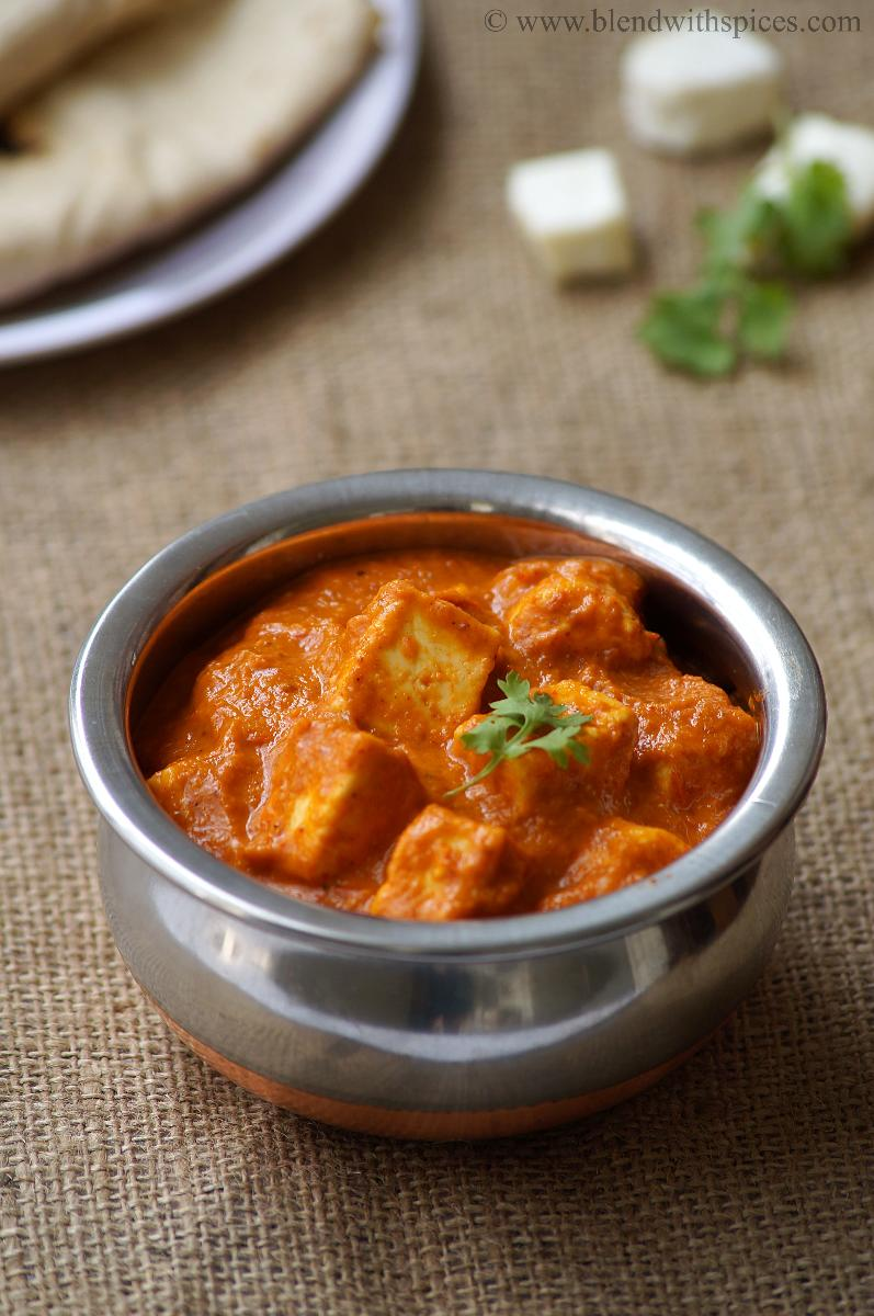 how to prepare shahi paneer