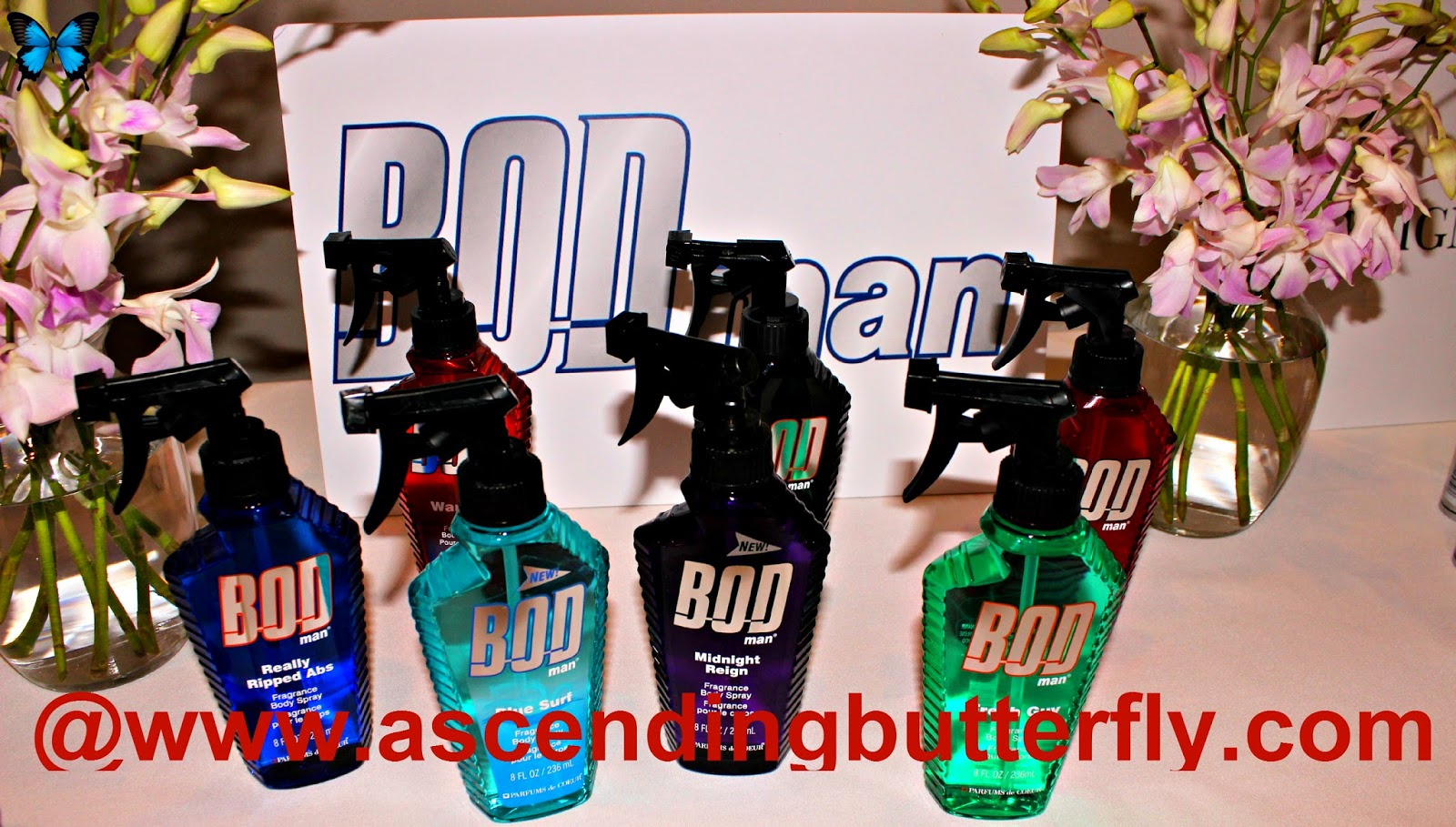 Bod Man at Getting Gorgeous 2014, Fragrance Rebel, parfums de coeur