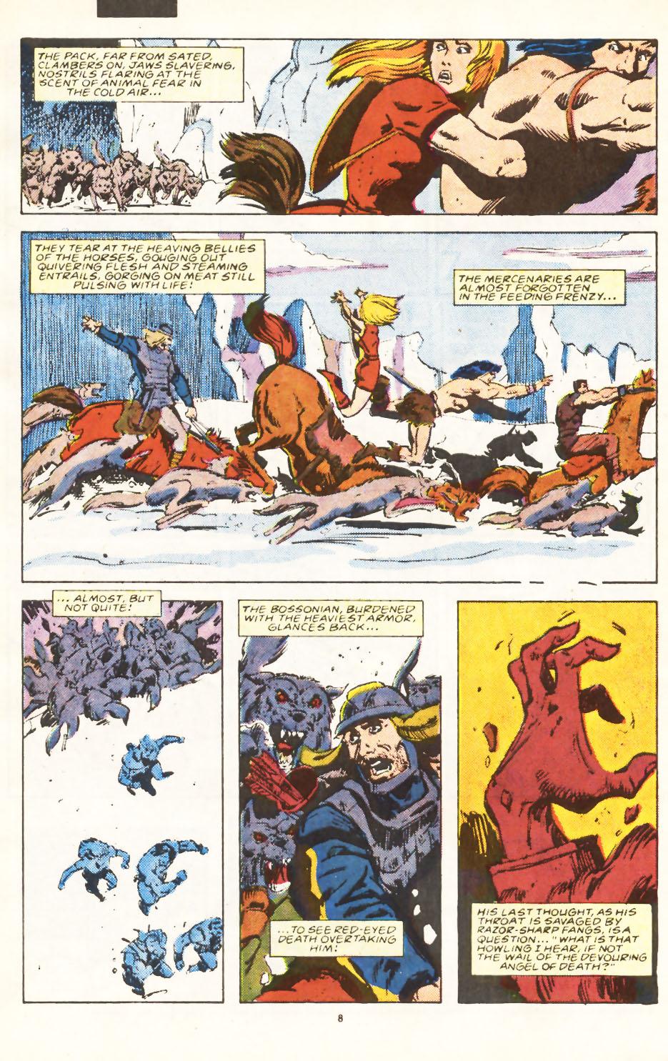 Conan the Barbarian (1970) Issue #224 #236 - English 7