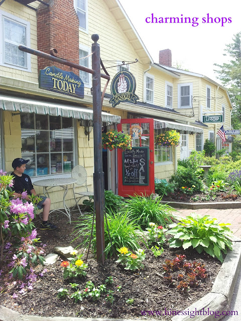 charming shops in Blowing Rock, N.C.