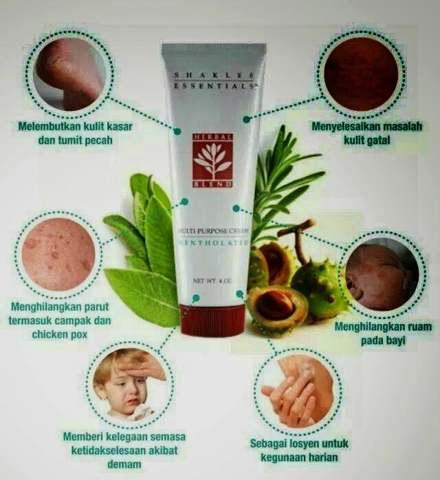 herbal bland shaklee eczema
