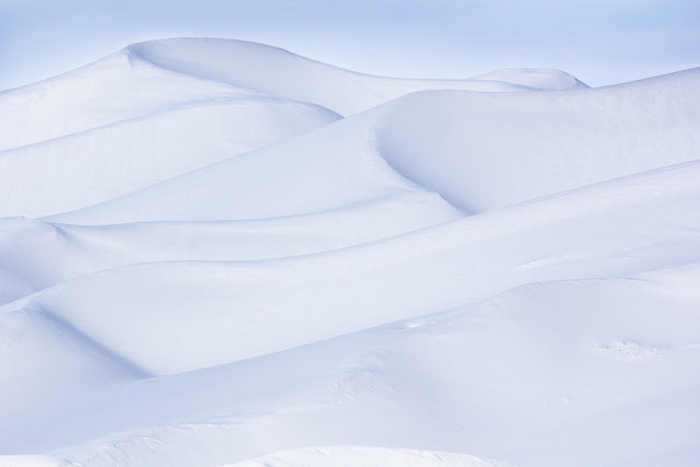 snow dunes