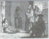 La Voisin interrogada en prisión